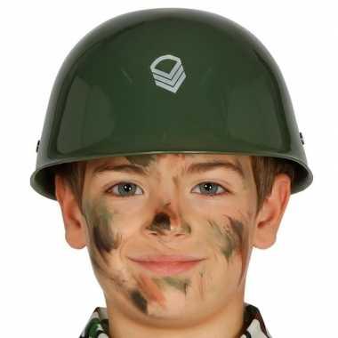 Amerikaanse soldaten helm kinderen