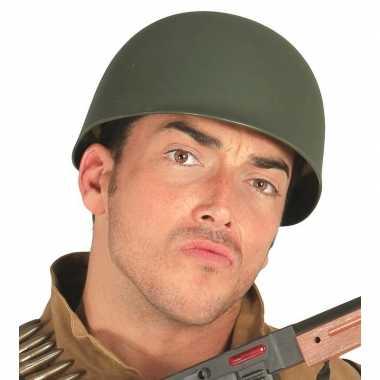 Amerikaanse soldaten/leger helm volwassenen