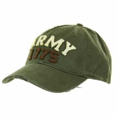 Army pet groen volwassenen