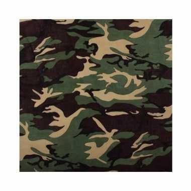 Bandana camouflage volwassenen
