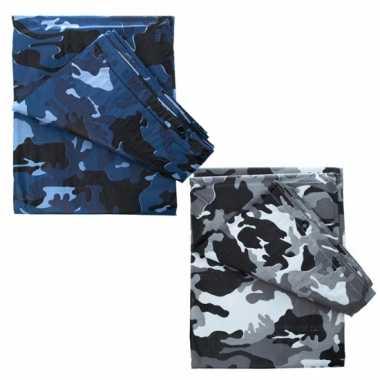 Camouflage afdekzeil bij , meter