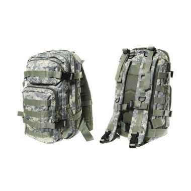 Camouflage assault rugzak liter