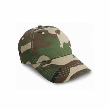 Camouflage cap volwassenen