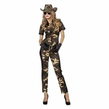 Camouflage catsuit riem