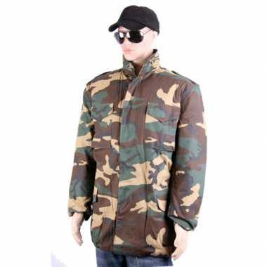 Camouflage jas volwassenen