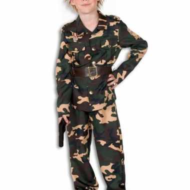 Camouflage kostuum kinderen