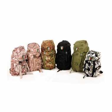 Camouflage nylon rugzak italia liter