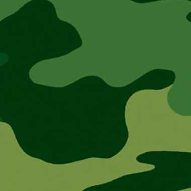 Camouflage print tafelkleed