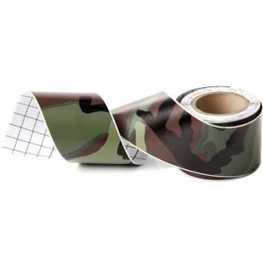 Camouflage tape meter lang