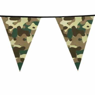 Camouflage vlaggenlijn meter