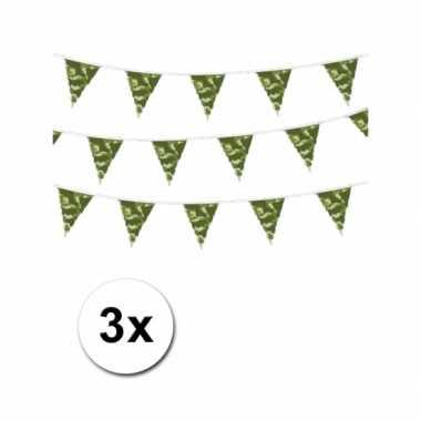 Camouflage vlaggenlijnen meter