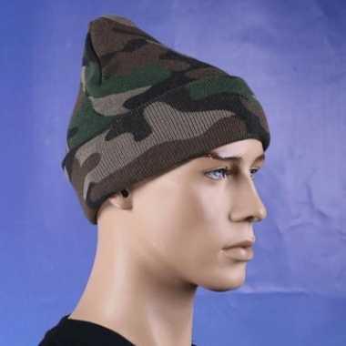 Commando camouflage muts