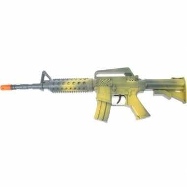 Groen automatisch speelgoed geweer jongens