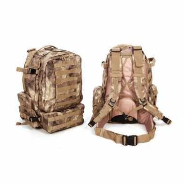 Grote camouflage assault rugzak liter