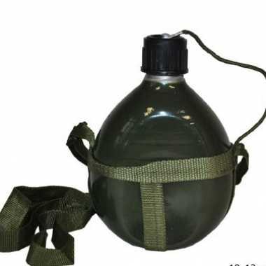 Leger flacon bij schouderband