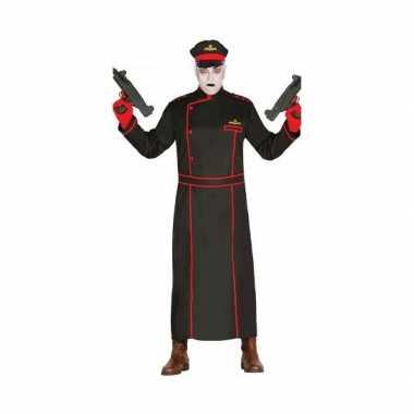 Luxe duitse generaal kostuum zwart