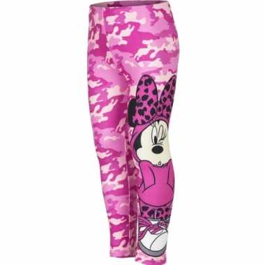 Minnie mouse legging roze meisjes