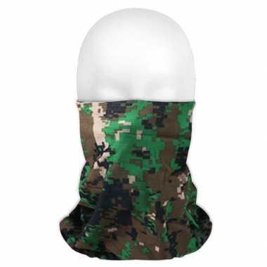 Multifunctionele morf sjaal camouflage