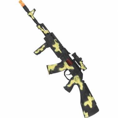 Peacekeepers camouflage geweer