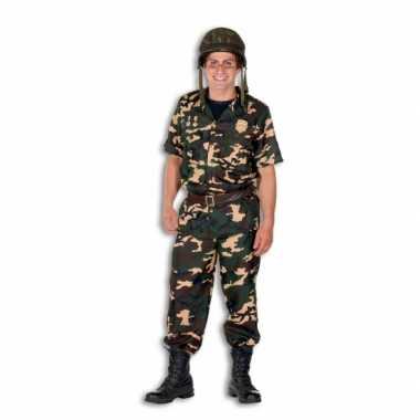 Soldaat kostuum heren