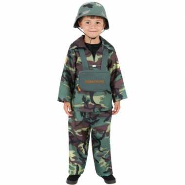 Stoer leger kostuum kinderen