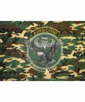 Camouflage st airborne division vlag