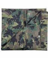 Groen camouflage afdekzeil bij m 10048680