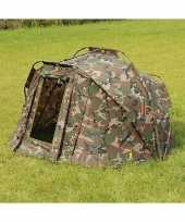 Luxe camouflage karpertent persoon