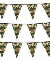 Set stuks camouflage vlaggenlijnen meter army thema 10219190
