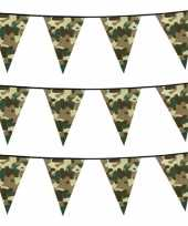 Set stuks camouflage vlaggenlijnen meter army thema