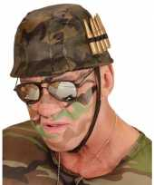 Soldaten helm kogels