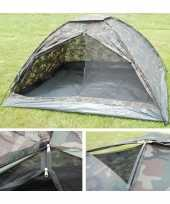 Tent camouflage print personen 10048690