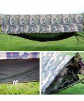 Waterproof jungle hangmat camouflage
