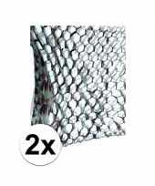 X stuks camouflage netten army thema